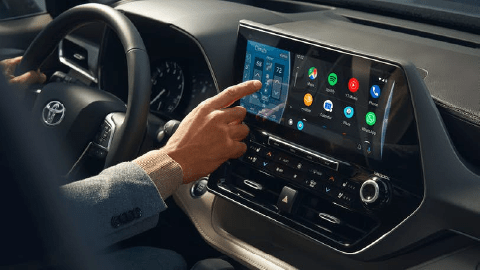 2020 Toyota Highlander Infotainment screen