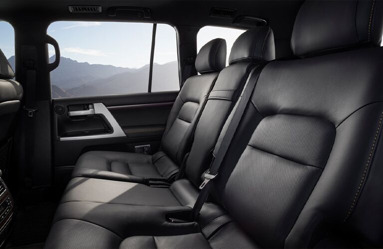 2021 Toyota Land Cruiser back seats