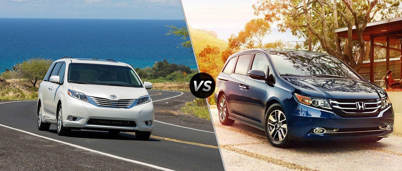 Honda Odyssey Vs Toyota Sienna >> 2016 Toyota Sienna Vs 2016 Honda Odyssey