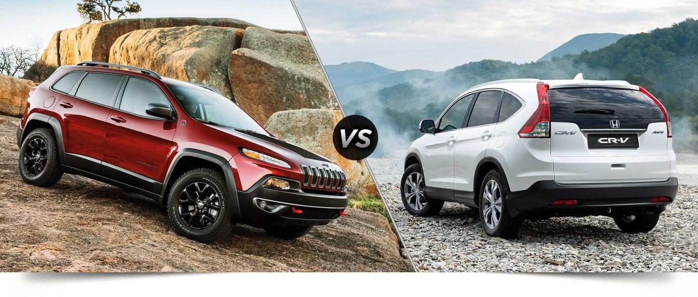 Towing Capacity 2014 Jeep Cherokee vs. Honda CR-V