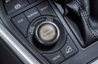 2020 Toyota RAV4 drive mode select