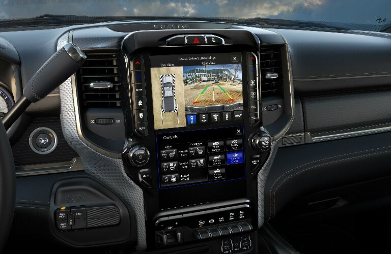 Infotainment system touchscreen in 2020 Ram 2500