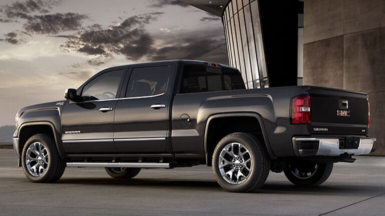 2014 GMC Sierra 1500 rear angle view