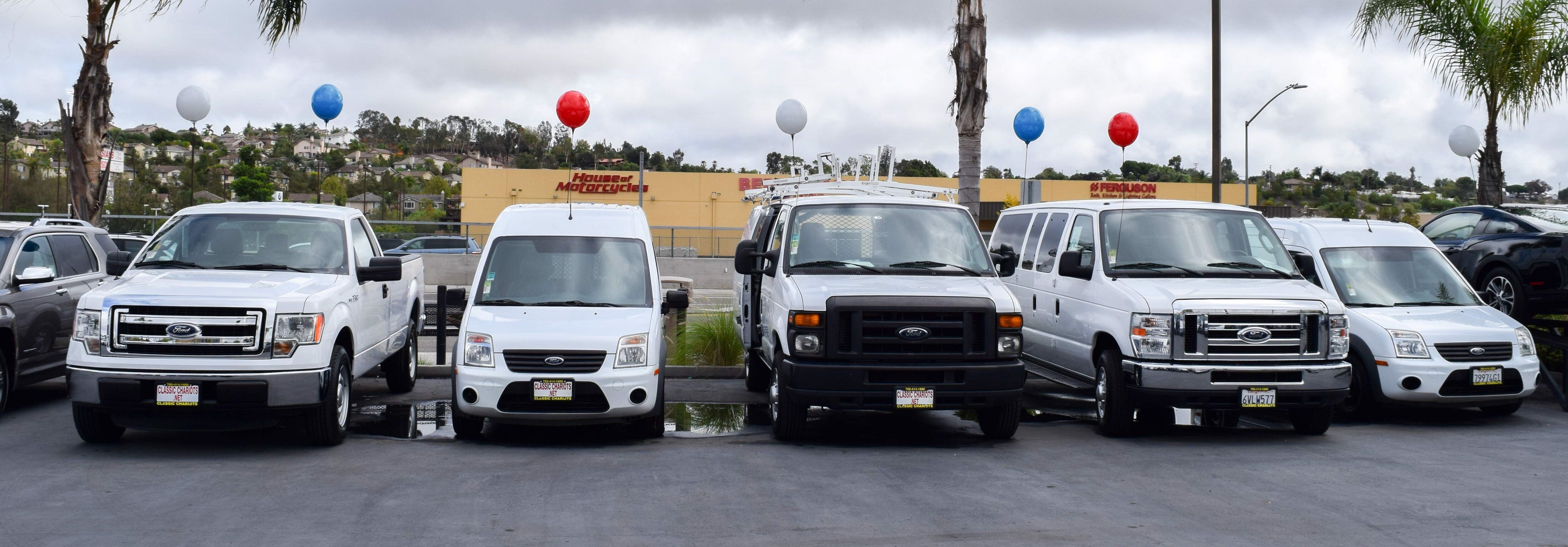 Used Cargo Vans & Commercial Vehicles for sale
