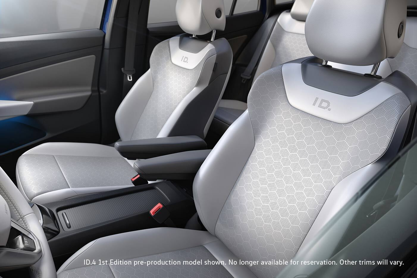 Front seats of Volkswagen ID.4