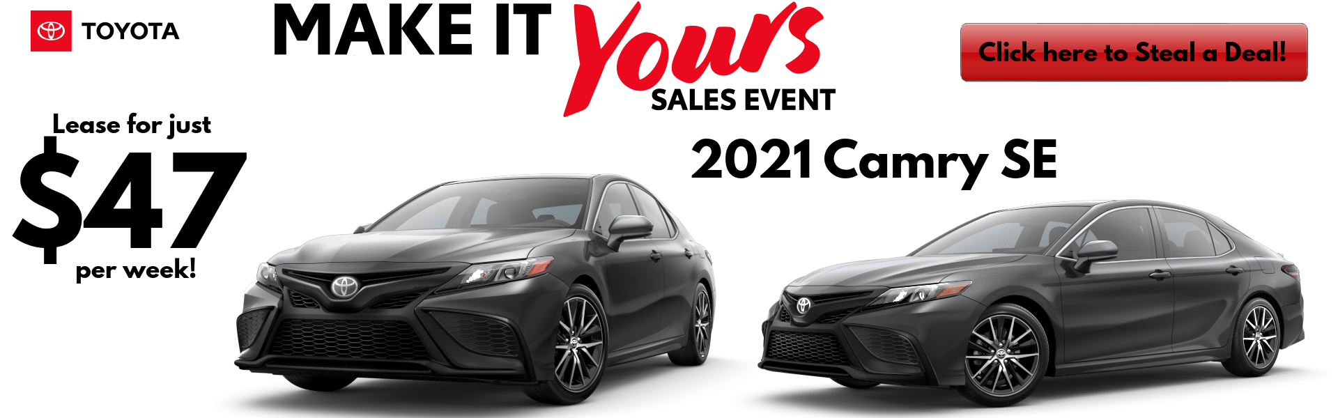 2021 Camry SE Lease