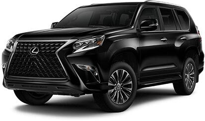 Exterior of the Lexus GX 460 shown in Black Onyx.