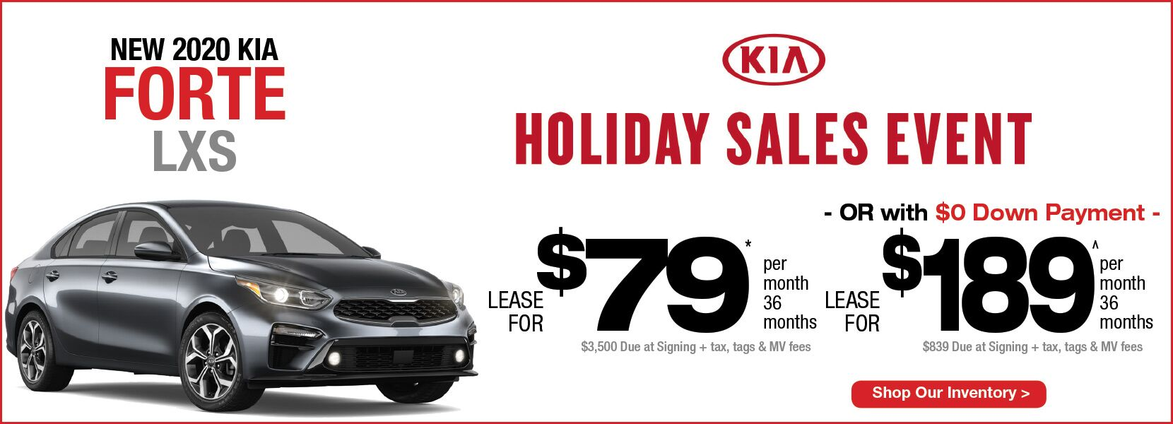 Kia Optima Lease 99 >> New Vehicle Specials