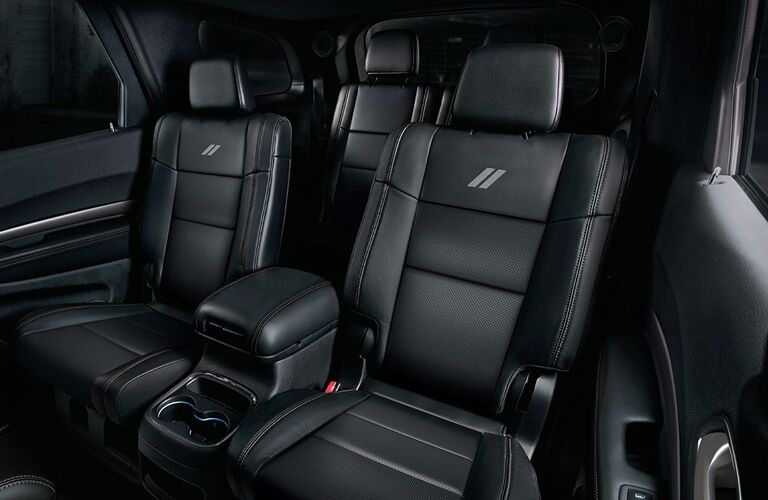 Rear seating in the 2020 Dodge Durango