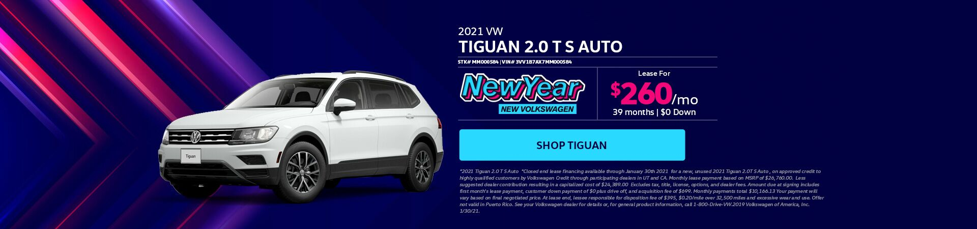 VW Tiguan - updated 01.08.21