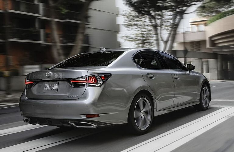2020 Lexus GS exterior rear