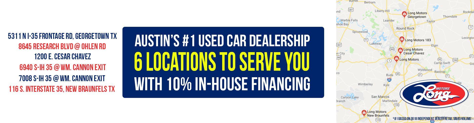 Repo Cars For Sale In San Antonio >> Used Vehicle Dealership Austin Tx Long Motors