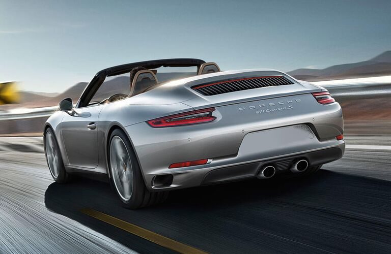 2019 Porsche Carrera Convertible in gray