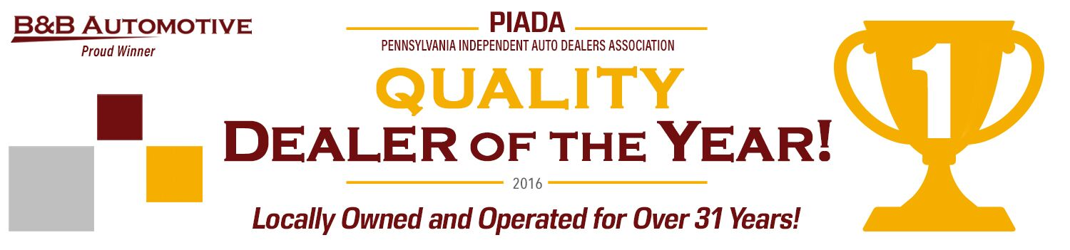 PIADA: Quality Dealer of the Year