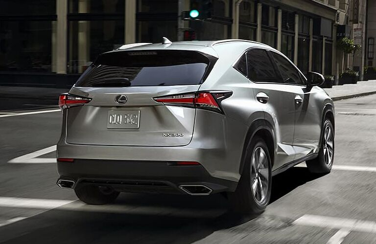 2020 Lexus NX parked outside rearview