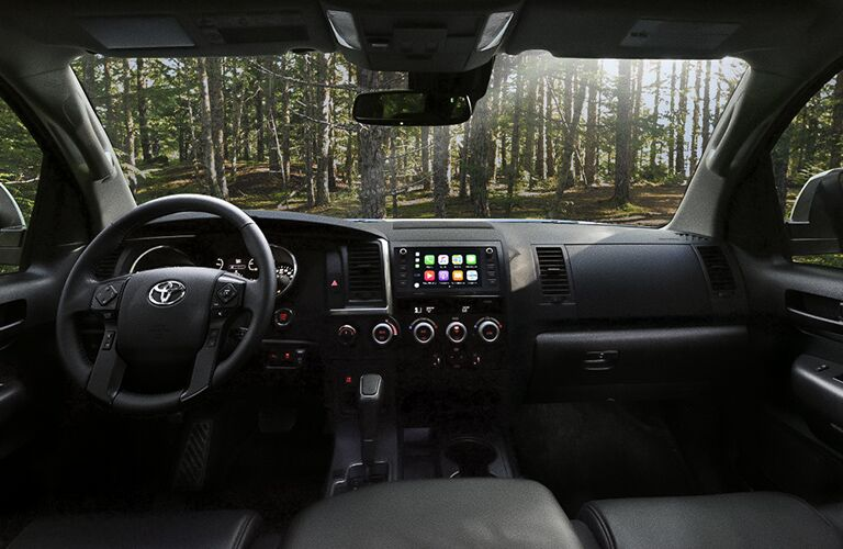 2020 Toyota Sequoia front seat view