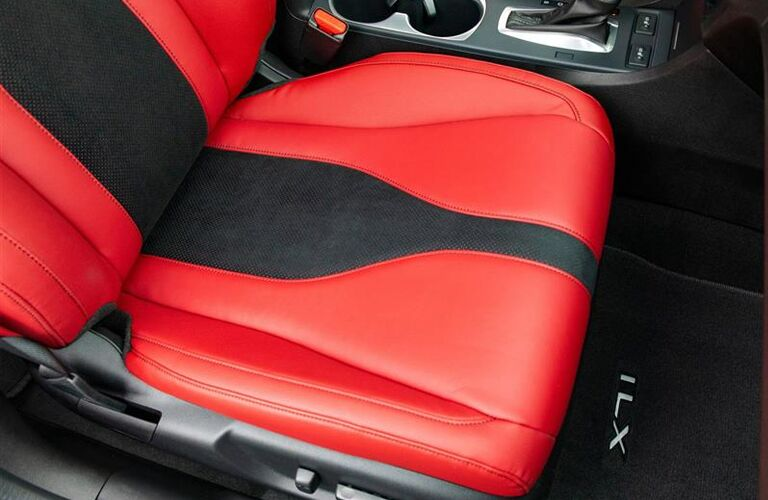 2020 Acura ILX seat detail close up