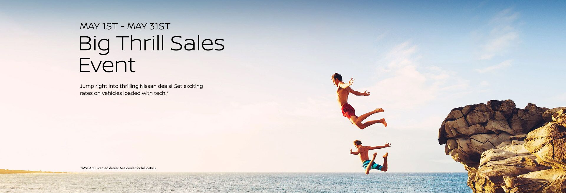May Thrills Sales Event