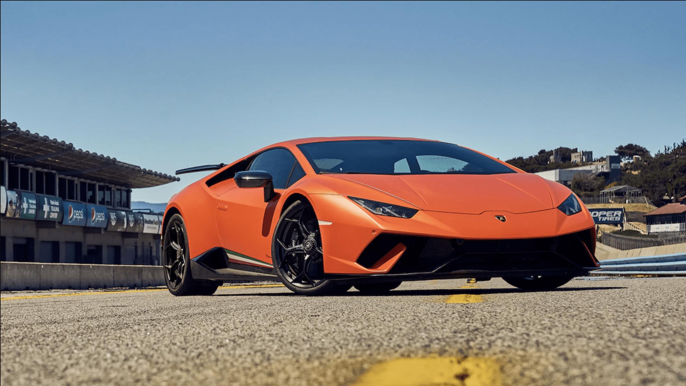 Lamborghini Huracan Performante Is The 2018 Motor Trend Best