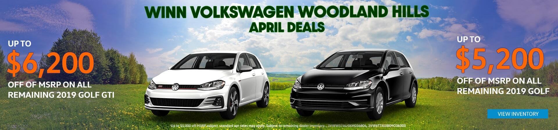 April MSRP offer