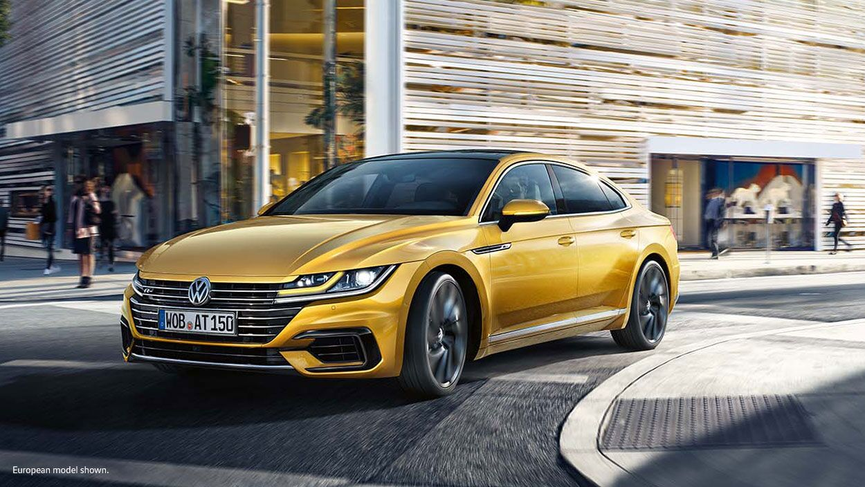Volkswagen Arteon's turbocharged engine