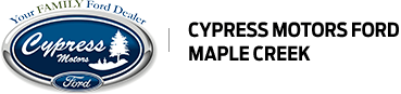Cypress Motors Ford Maple Creek logo