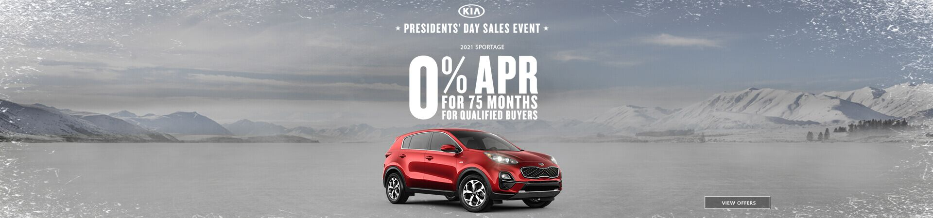 Presidents' Day Sportage