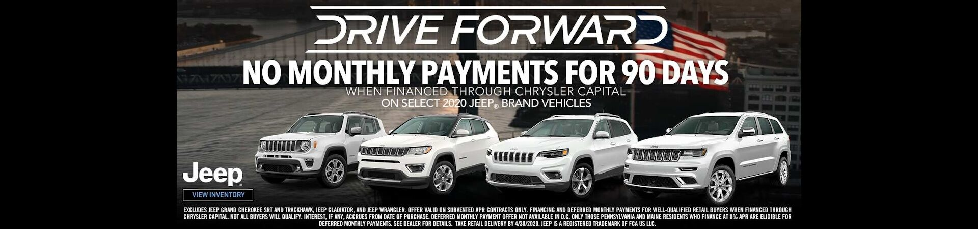 Drive Forward - NMP for 90 - Jeep