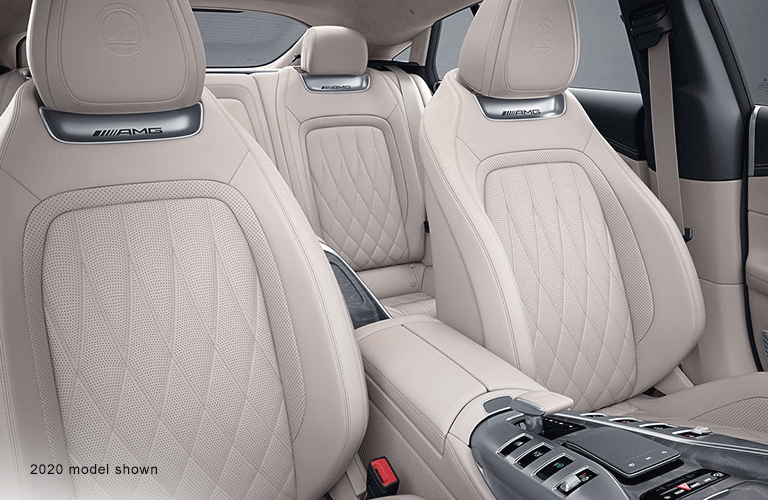 2021 MB GT interior seats