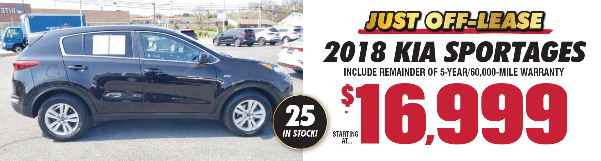 2018 Sportages April Special
