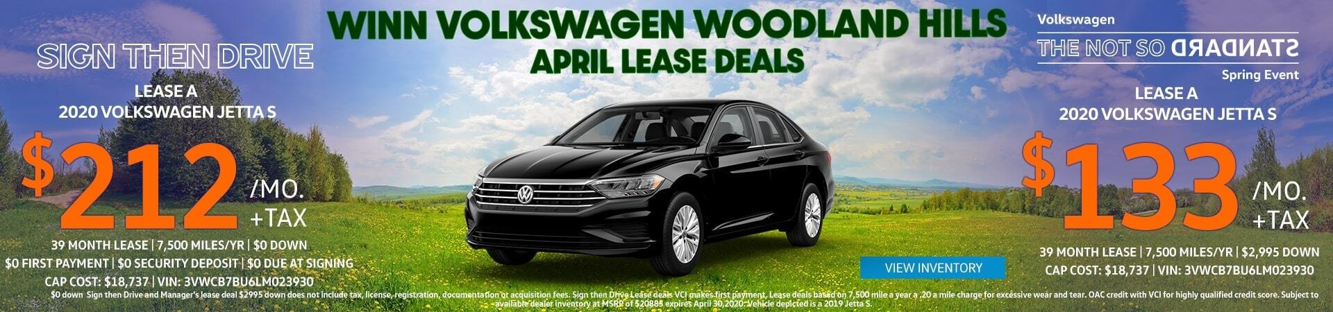 April Volkswagen Jetta Lease deal Los Angeles, Santa Monica, Van Nuys, Thousand Oaks, Santa Clarita, North Hollywood , Simi Valley