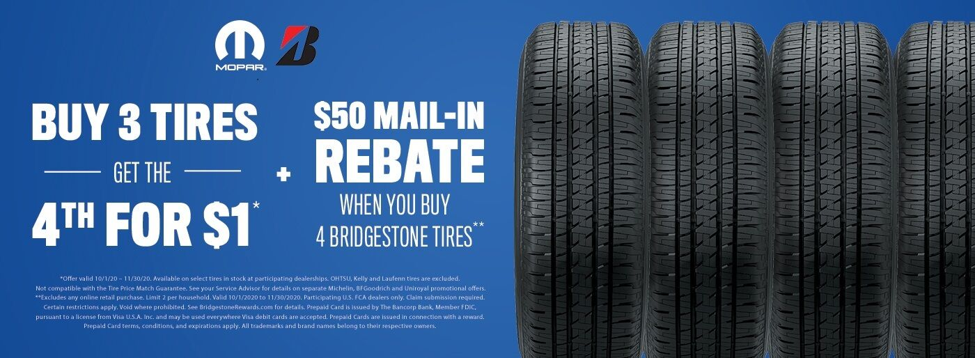 Bridgestone Rebate Tile