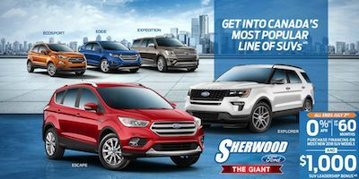 June Ford Canada Incentives and Rebates