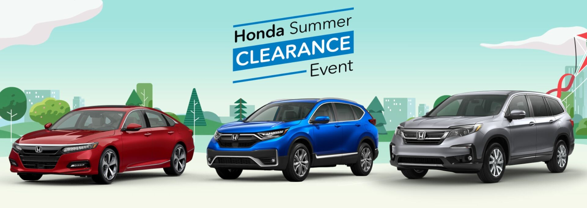 Honda Summer Clearance