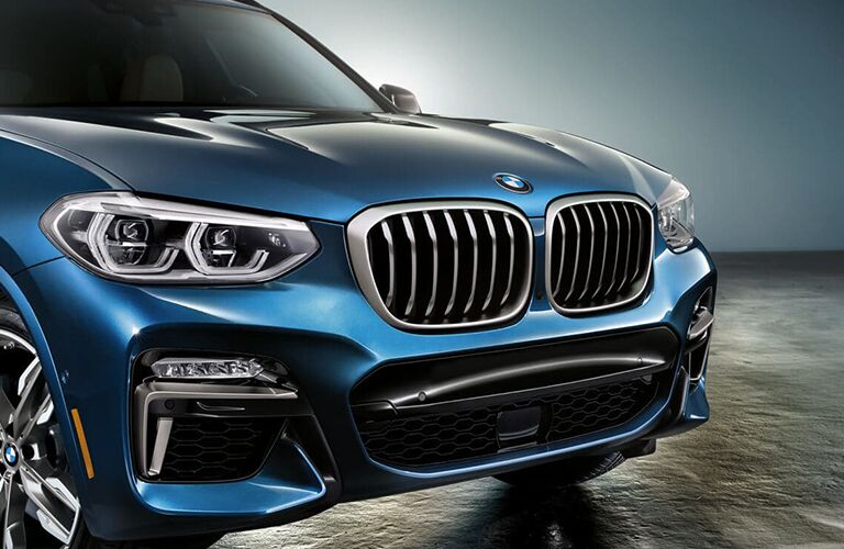 2019 BMW X3 grille close-up