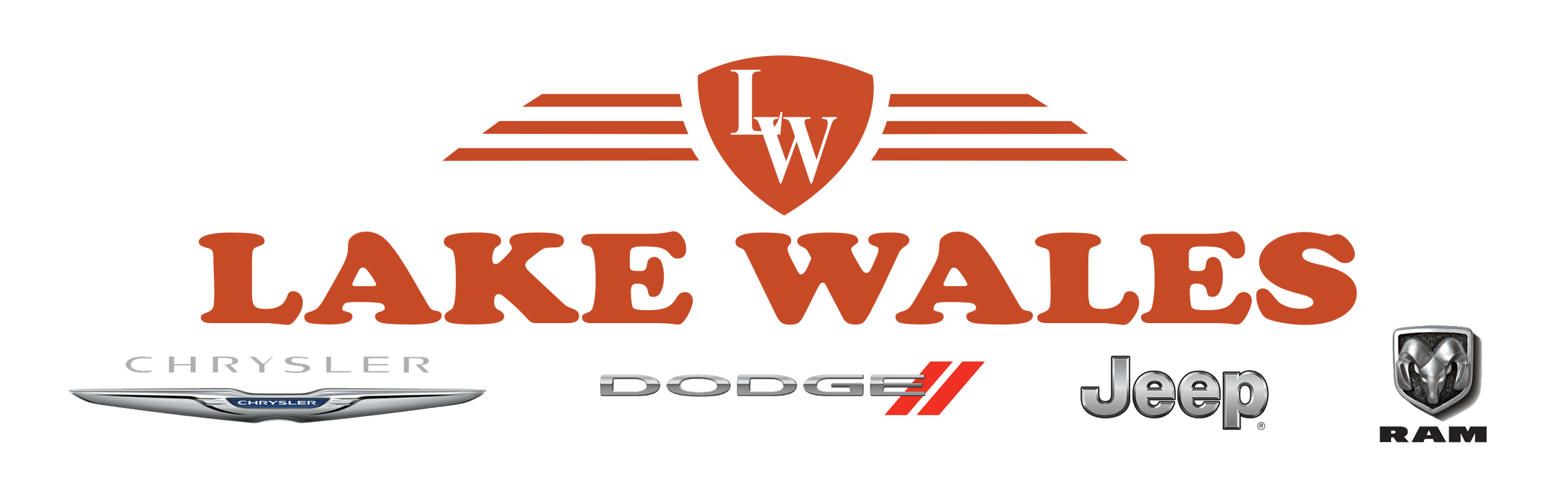 Lake Wales Chrysler Dodge Jeep Ram logo