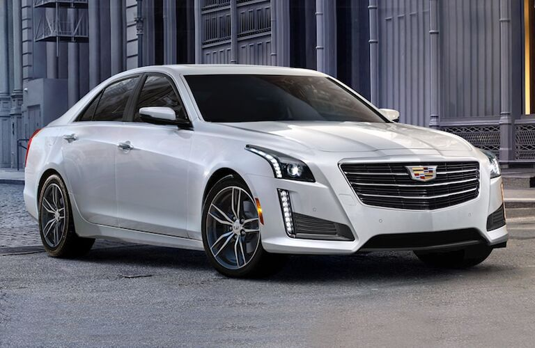 2019 Cadillac CTS parked