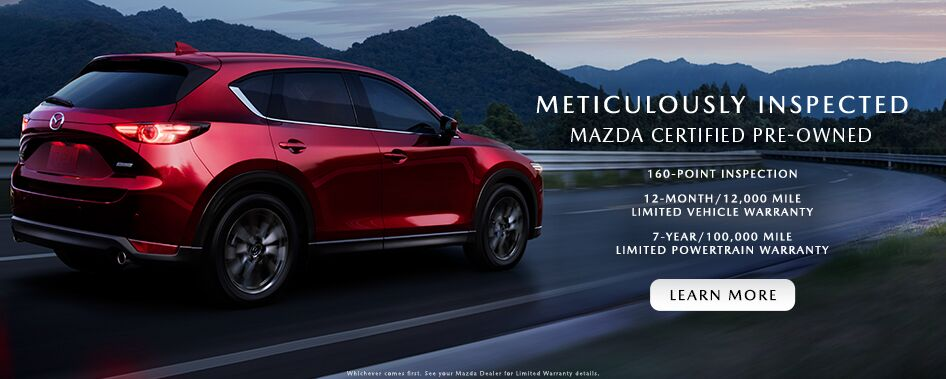 Mazda CPO Program Benefits