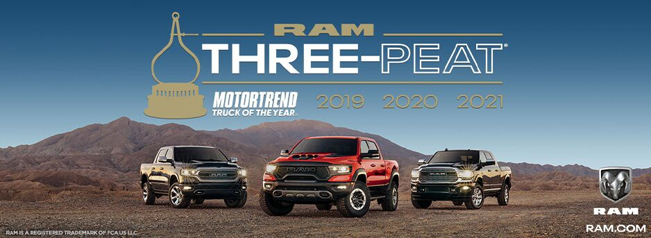 Motor Trend Truck of the Year Three-Peat