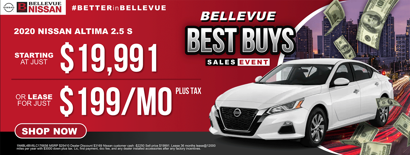 Best Buys 2020 Altima