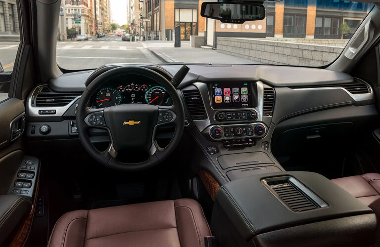 interior of the Chevrolet Tahoe