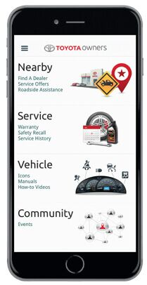 Toyota Owners App. Help is just a click away!