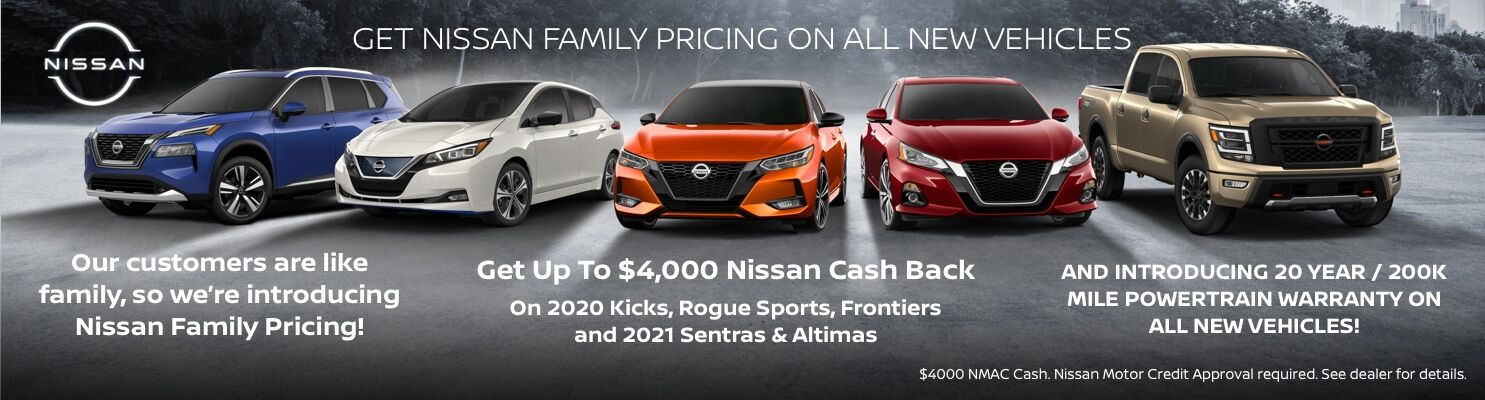 Nissan Family with New Pricing 2021
