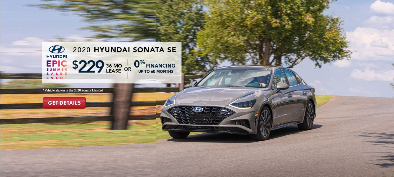 Hyundai Sonata SE Lease Offer