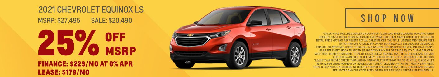 Chevy Equinox LS