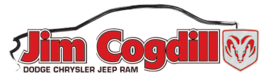Jim Cogdill Dodge Chrysler Jeep Ram logo