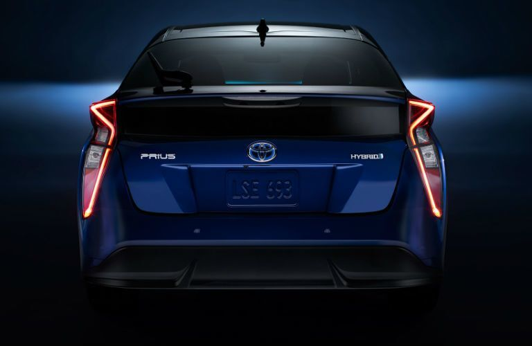 2017 Toyota Prius from the rear
