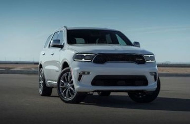 2021 Dodge Durango parked front view