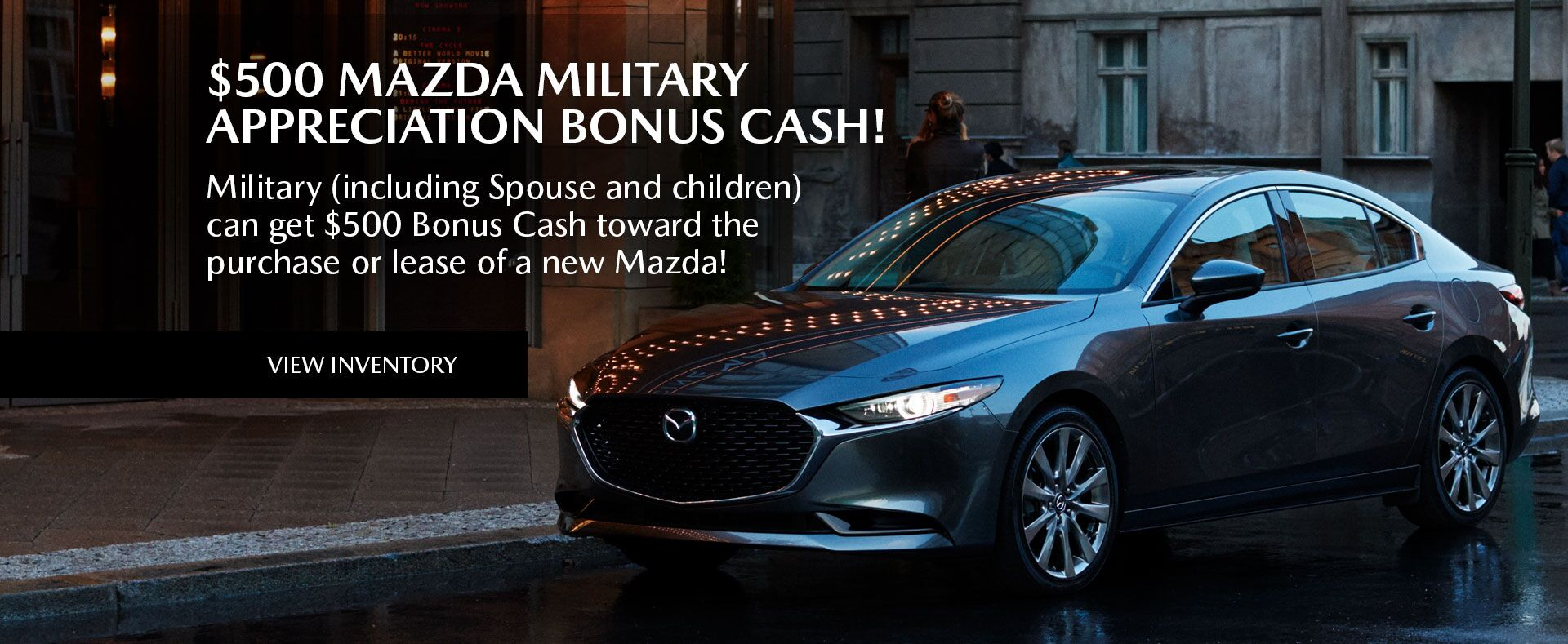 Mazda Military Appreciation Bonus Cash