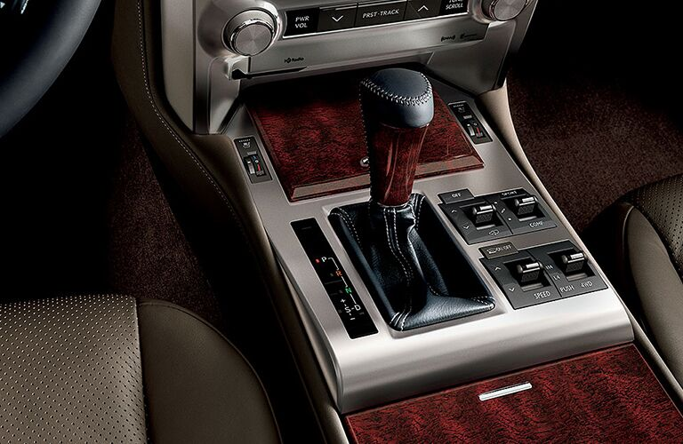 2019 Lexus GX gear shift